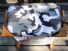 Bleacher Seat - Camouflage Light